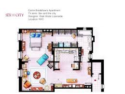 sex and the city floor plan tv s most famus floor plans