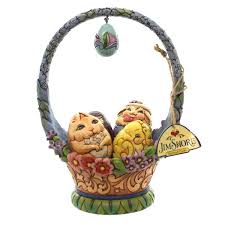 jim shore easter baskets easter basket figurines easter wikii