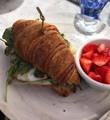 CROISSANT BREAKFAST SANDWICH Picture of The Butcher The Baker