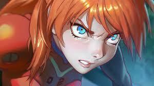 asuka hair wallpaper anime neon genesis evangelion asuka langley