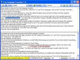 free language translator free download and software reviews