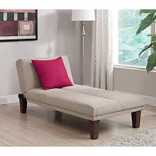 Chaise Sofa Sleeper Amazon Com Contemporary Chaise Lounge Seat Couch Sleeper Indoor