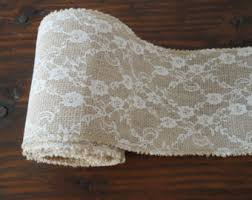 burlap and lace ribbon burlap and lace ribbon burlap and lace roll rustic wedding decor