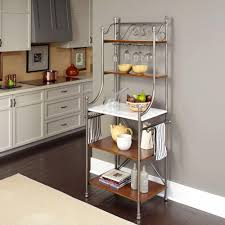 How To Use A Bakers Rack Baker U0027s Racks Kitchen Storage Furniture The Home Depot