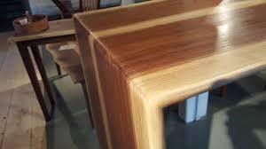 walnut breakfast bar table walnut bar table gallery table decoration ideas