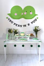 two peas in a pod baby shower decorations two peas in a pod baby shower baby shower ideas themes