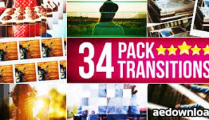 videohive modern transitions after effects templates free