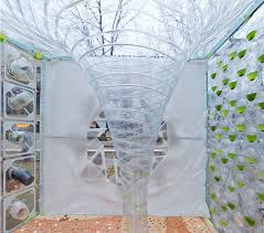 Selgas Cano Architecture Spiraling Algaevator Up Co2 To Produce Clean Green Algae
