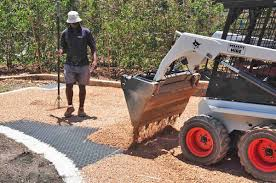 Installing Pea Gravel Patio Gravel Surfaces Stabilized For Vehicle And Pedestrian Traffic
