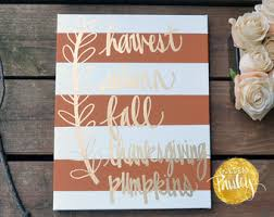 give thanks burlap wall hanging fall decoration fall sign