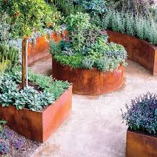 small backyard ideas for an edible garden sunset