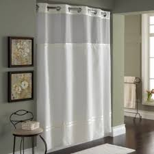 Machine Washable Shower Curtain Liner Buy Hookless Shower Curtain Liner From Bed Bath U0026 Beyond