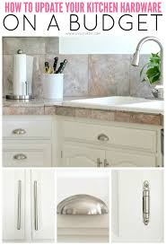 Ideas To Update Kitchen Cabinets Choosing Kitchen Cabinet Knobs Pulls And Handles Diy Best Kitchen