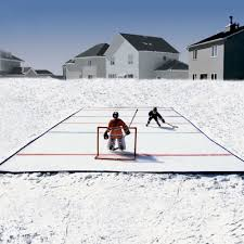 backyard rinks design and ideas of house