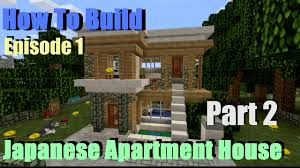 minecraft very small modern house tutorial japanese inspired