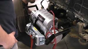 installing a winch youtube