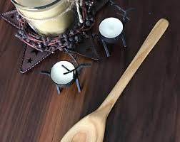 handmade wood spoon etsy