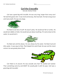 second grade reading comprehension worksheets page 2 of 14