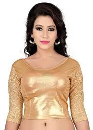 golden blouse fressia fabrics s cotton saree blouse golden