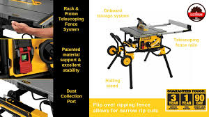 dewalt table saw rip fence extension best inexpensive table saw for woodworkers on a budget