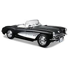 who sings corvette amazon com maisto 1 18 scale 1957 chevy corvette diecast vehicle