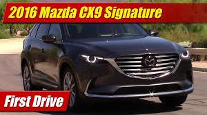 Cx 9 Redesign First Drive 2016 Mazda Cx9 Signature Testdriven Tv