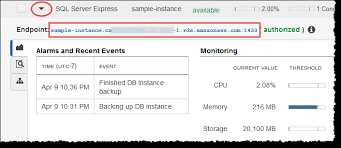 How To Delete A Table In Sql Creating A Microsoft Sql Server Db Instance And Connecting To A Db