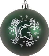 michigan state 2010 spartan helmet ornament