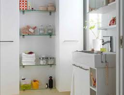 Storage Idea For Small Bathroom by Bathroom Astonishing Tall White Cabinet For Small Bathroom