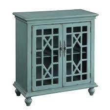 Two Door Cabinet Christopher Home Bayberry Blue Two Door Cabinet Free