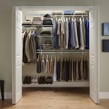 Baby Closet System Closetmaid Shelftrack 5 8 Ft Closet Organizer Kit Hayneedle