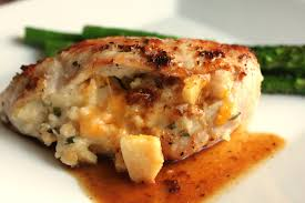 a feast for the apple cheese stuffed chicken