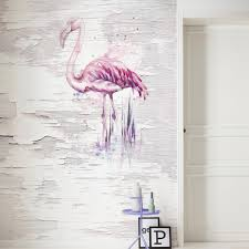 blog modern wall design through photomurals a peeling white wooden wall with a delicate flamingo or a panel with stucco ornaments like in a berlin apartment building shabby chic style photomurals