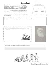 theory of evolution worksheet free worksheets library download