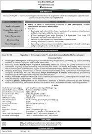 Pl Sql Developer Resume Sample by Java Developer Resume Haadyaooverbayresort Com