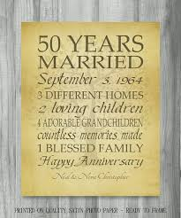 50th wedding anniversary gifts for parents what you to think about 50th wedding anniversary ideas for
