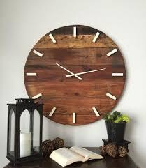 horloge murale cuisine originale cuisine originale en bois 5 la grande horloge murale en photos