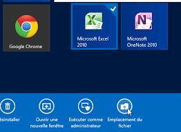 comment mettre un icone sur le bureau windows 8 créer un raccourci sur le bureau classique