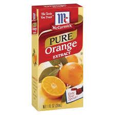 mccormick pure orange extract 1oz target