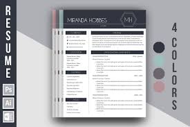 Best Resume Paper White Or Ivory by Resume Template U0027miranda Hobbes U0027 By Bueno Flores Design