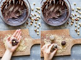 homemade ferrero rocher lazy cat kitchen