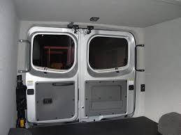 Van Rear Door Awning Office Vehicles Custom Van And Truck Conversions Personalized