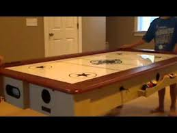 pool and air hockey table air hockey pool table youtube