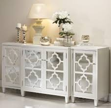 Mirrored Sideboards And Buffets by Sideboards Glamorous White Mirrored Credenza White Mirrored