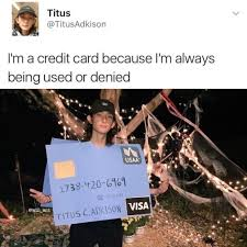Credit Card Meme - credit card meme tumblr
