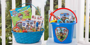 cheap easter basket stuffers build your own paw patrol easter basket party city