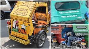 philippines pedicab avec les jeepneys le tuning devient du street art aux philippines