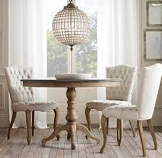 Restoration Hardware Dining Room Tables 1840 Bluestone Pedestal Dining Table