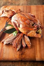 new year dinner recipe burgundy roasted duck happy christmas new year family party