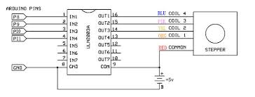 stepper motor 5v 4 phase 5 wire u0026 uln2003 driver board for arduino